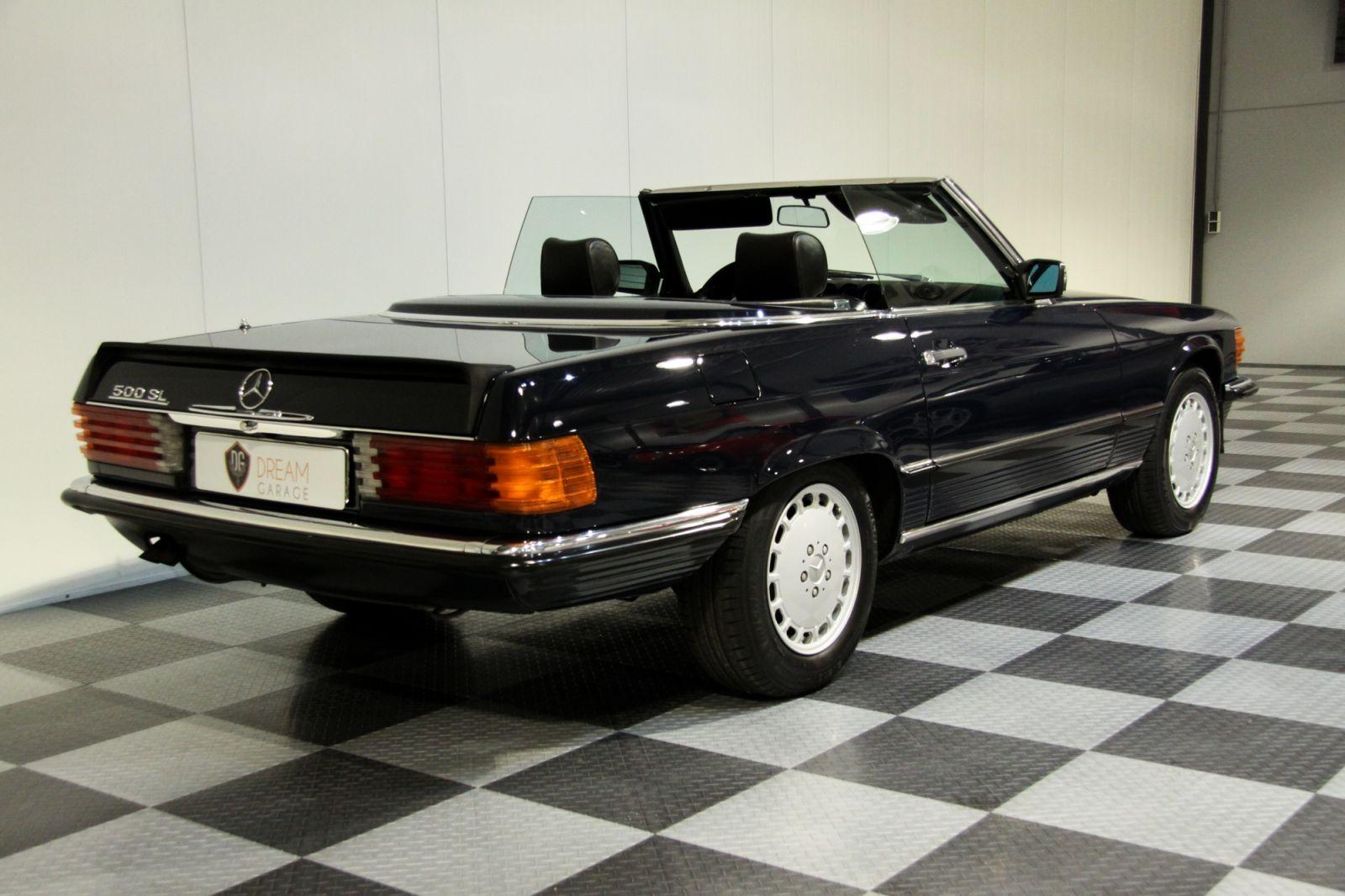 Dream garage verkauftmercedes mercedes benz 500 sl for Garage agree mercedes