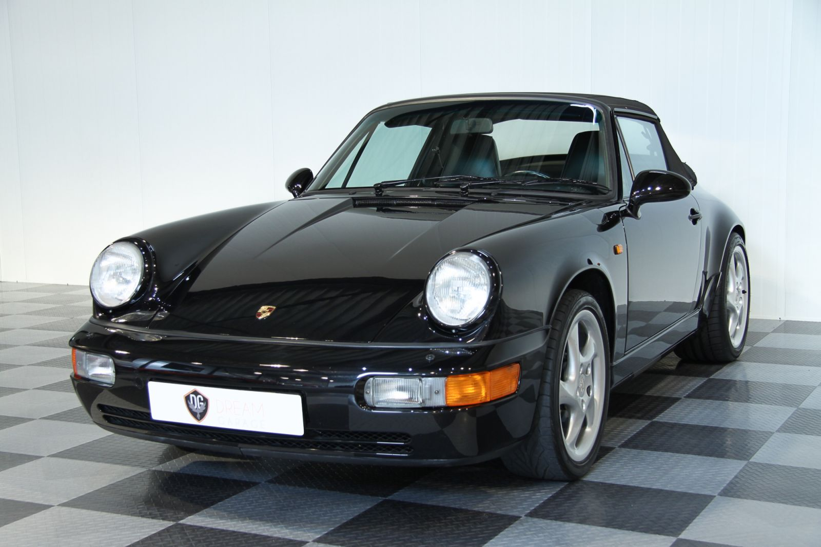 Dream Garage Verkauftporsche 911 964 Carrera 2 Cabriolet