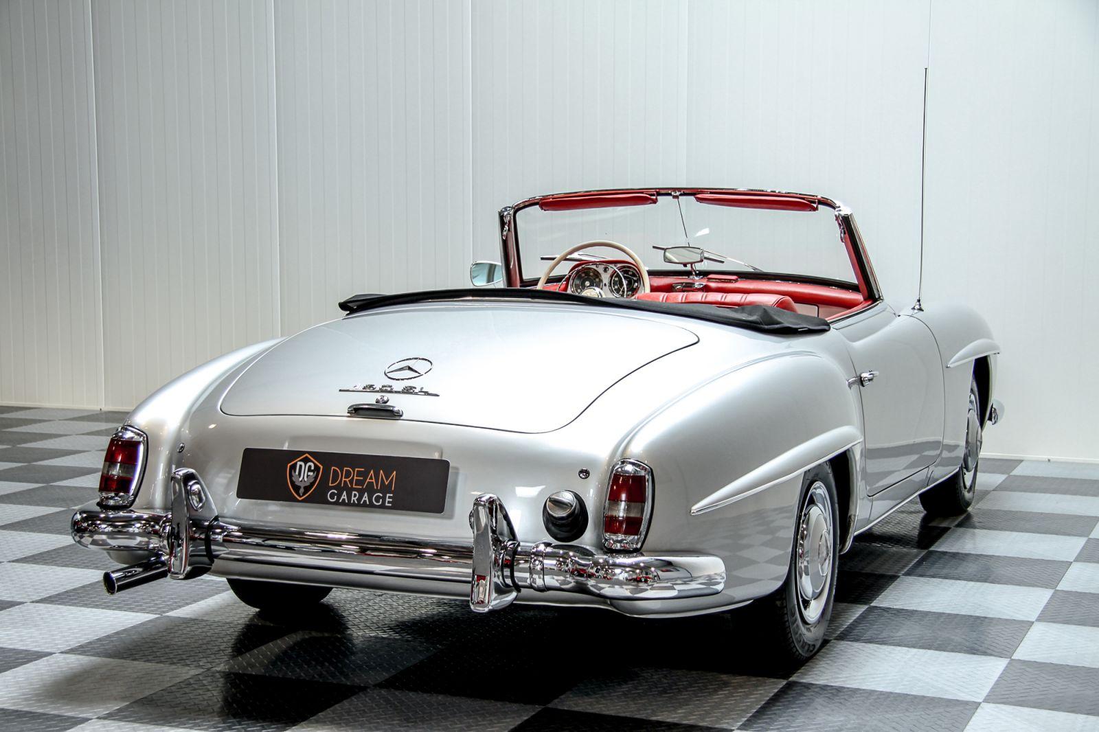 dream garage sold carsmercedes mercedes 190 sl. Black Bedroom Furniture Sets. Home Design Ideas