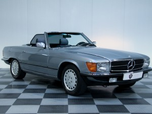 Mercedes - Mercedes 380 SL EU version