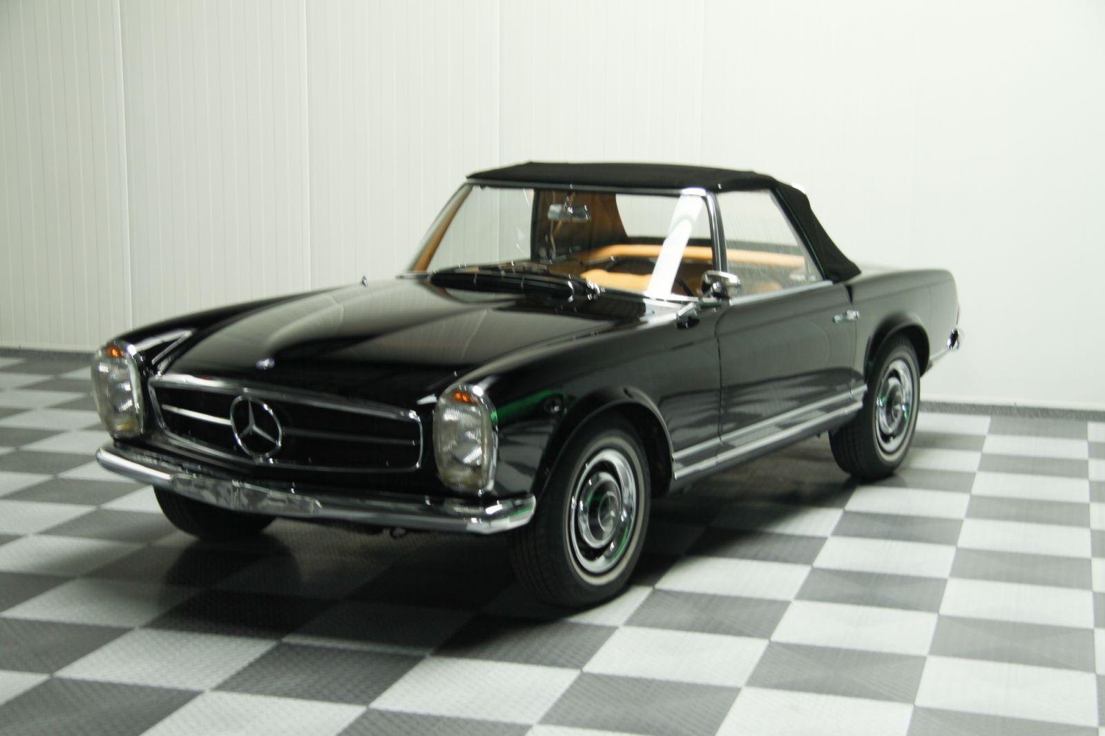 dream garage sold carsmercedes mercedes benz 230 sl. Black Bedroom Furniture Sets. Home Design Ideas