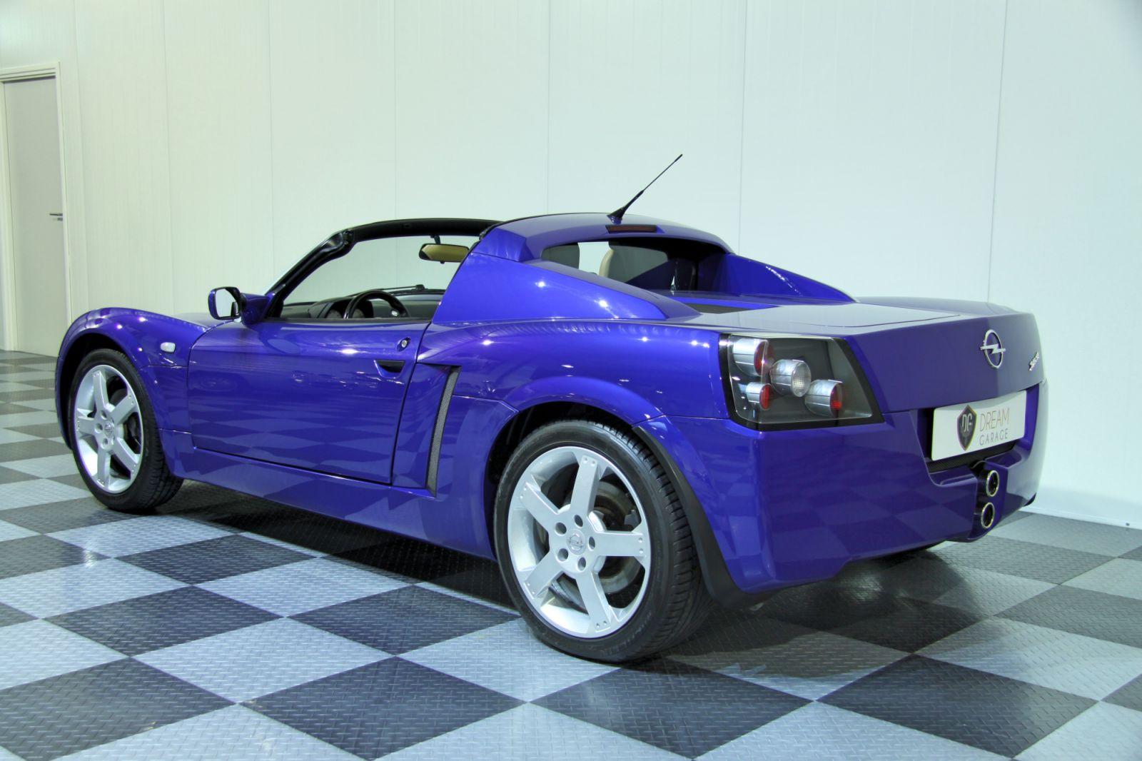 dream garage sold carsopel opel speedster 2 2. Black Bedroom Furniture Sets. Home Design Ideas