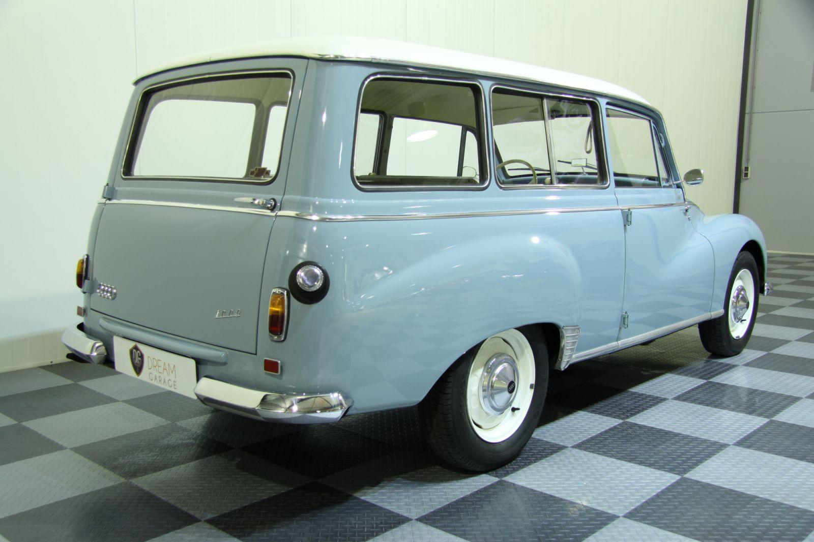 Dream garage sold carsauto union auto union 1000 universal s for Garage auto l union