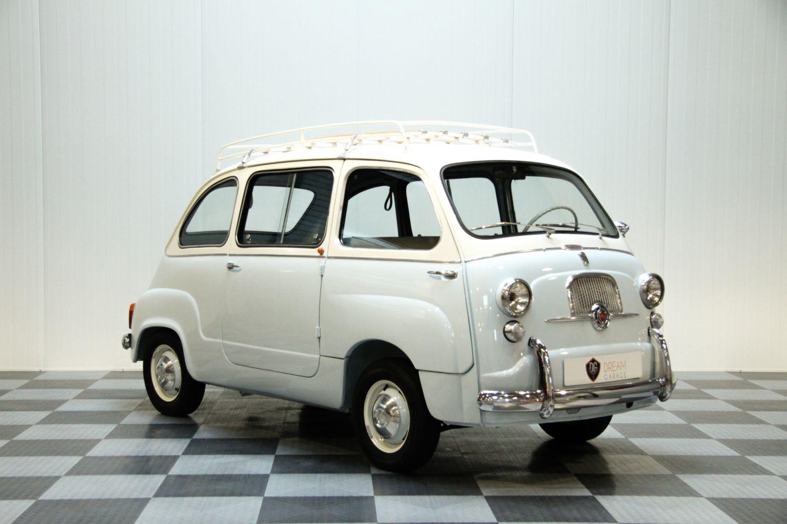 dream garage sold carsfiat fiat 600 multipla. Black Bedroom Furniture Sets. Home Design Ideas