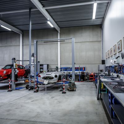 Dream Garage workshop